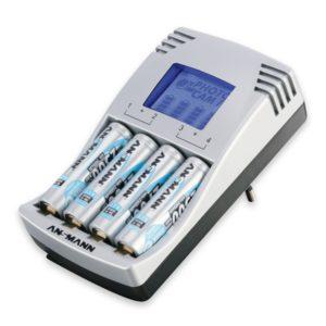 Akku Ladegerät Test - ANSMANN PhotoCam IV Steckerladegerät Akku-Ladegerät für AAA/AA mit LCD-Anzeige